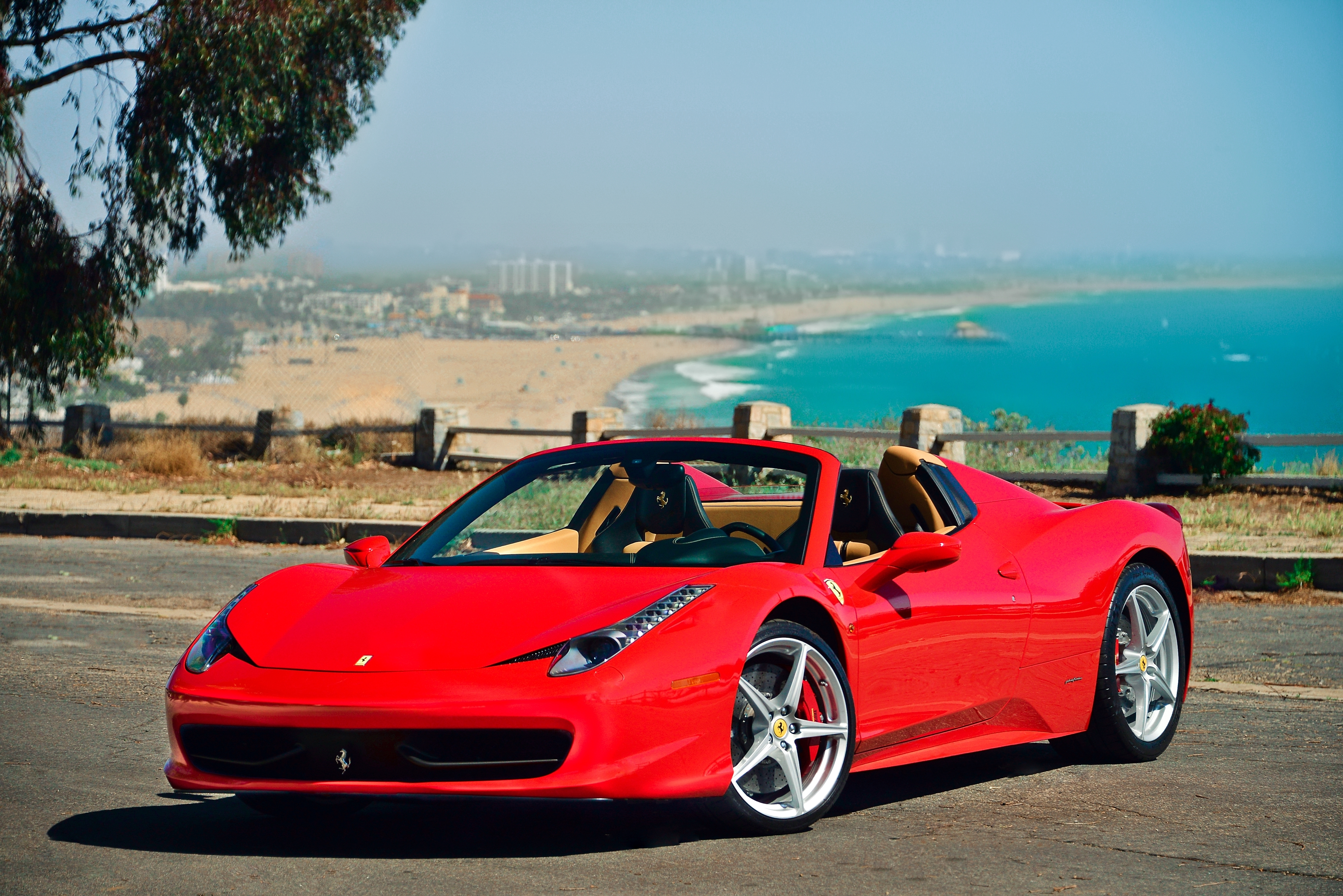 Rent A 2013 Ferrari 458 Spider Midway Car Rental