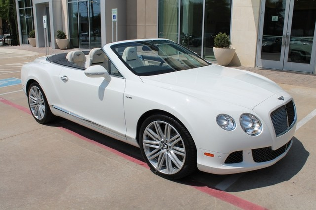 2014 Bentley Continental GTC Convertible Parked outside our Midway Location