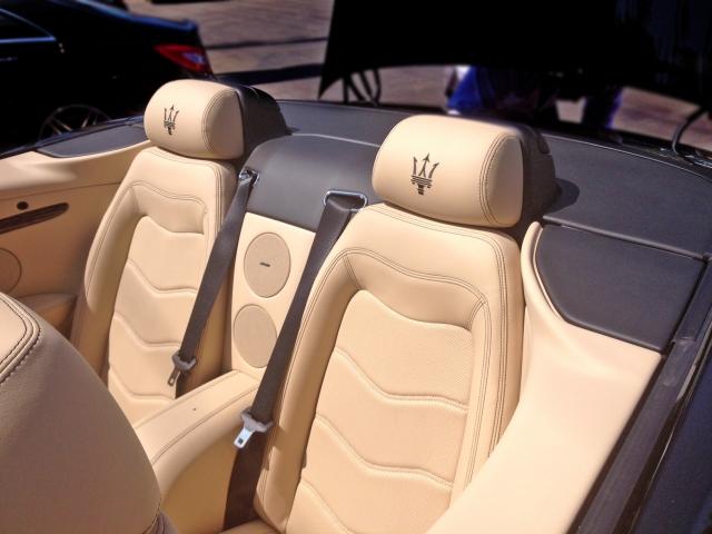 Maserati GranTurismo Convertible Interior