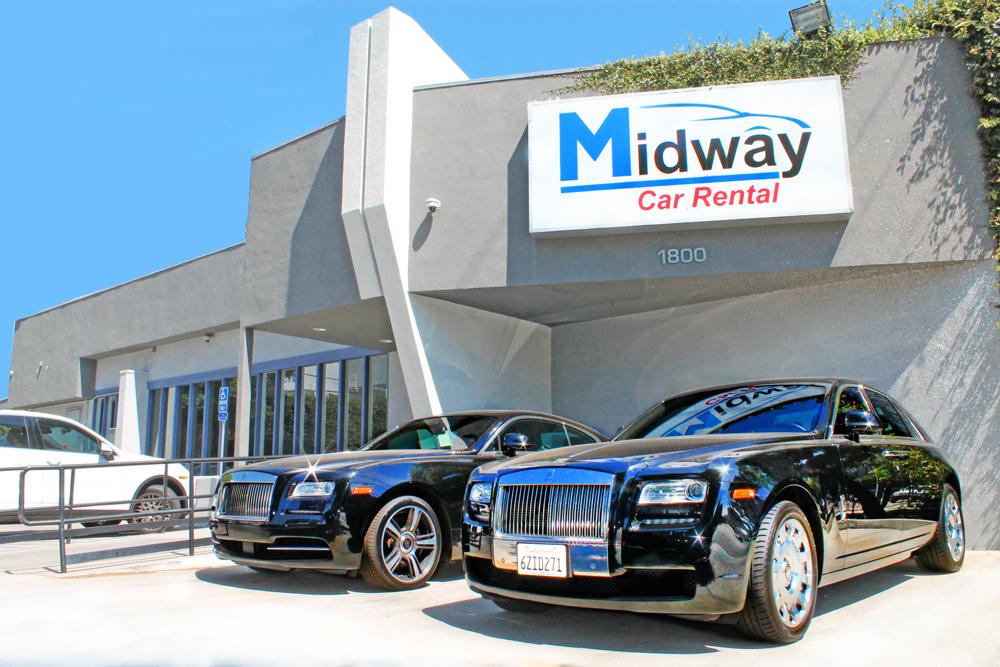 midway car rental west los angeles location midway car rental. Black Bedroom Furniture Sets. Home Design Ideas