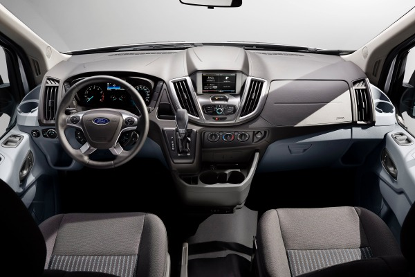 2015 Ford Transit Wagon XLT Interior