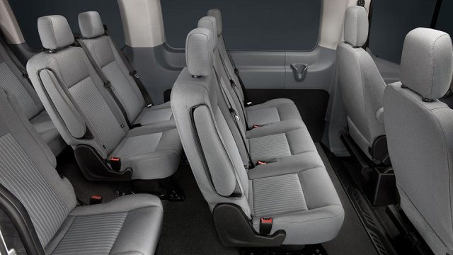 2015 Ford Transit Wagon XLT Seating