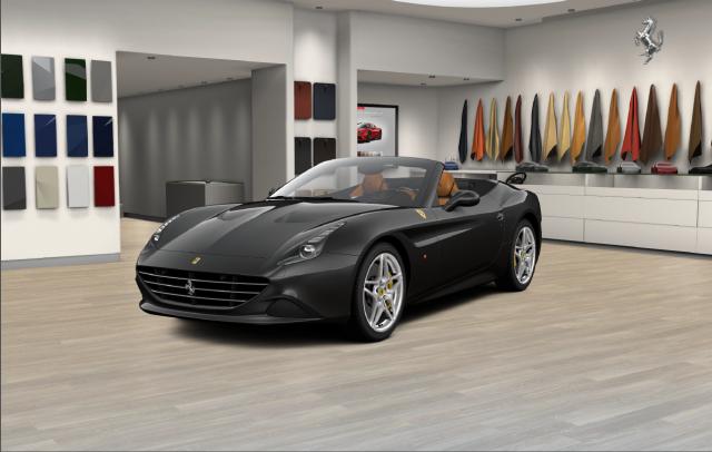 Front Diagonal Angle of the Ferrari CaliforniaT