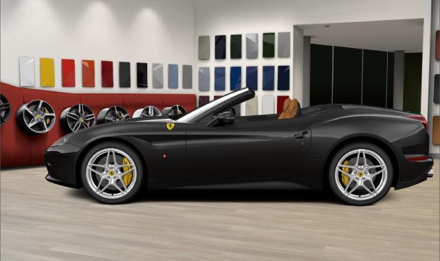 Side Angle of the Ferrari CaliforniaT