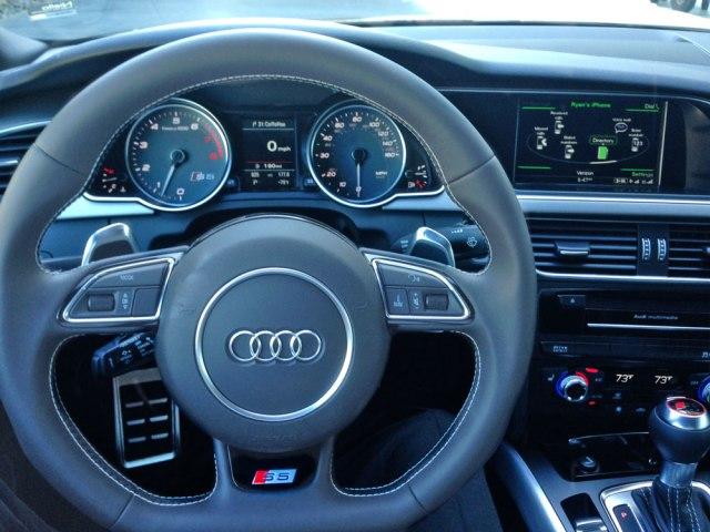 Audi S5 2015 Steering Wheel