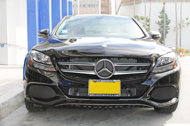 Front of the 2015 Mercedes C300