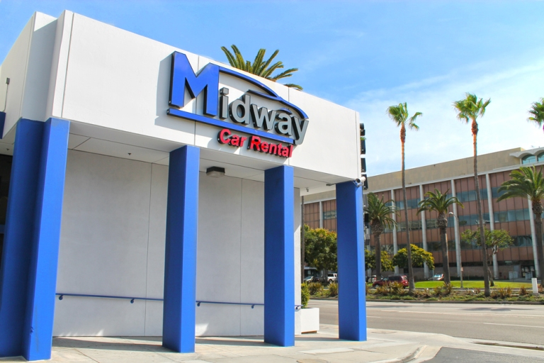 Midway Car Rental LAX Location